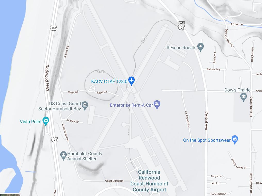 Arcata Airport topo.png