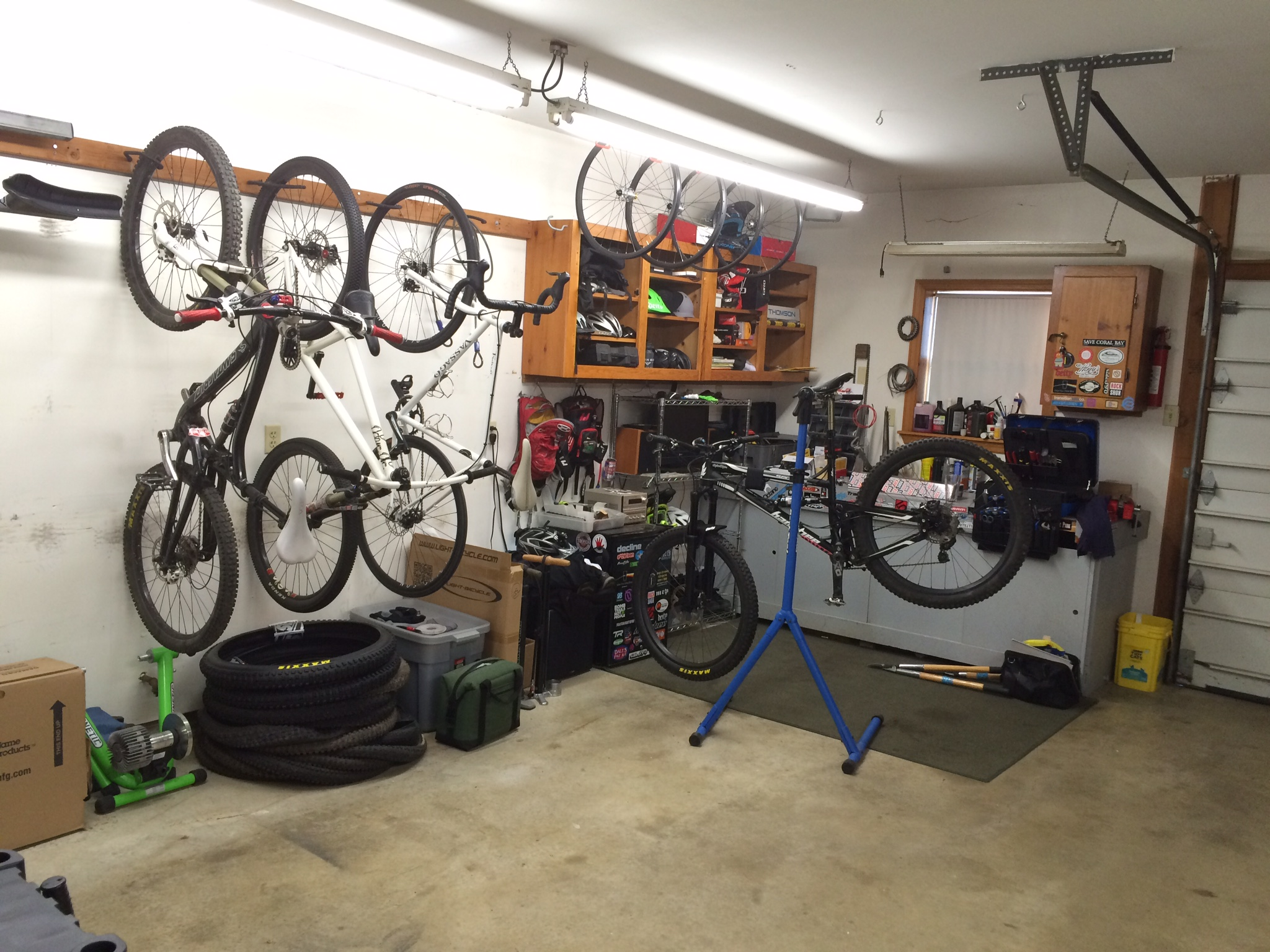 How to build a bicycle storage shed