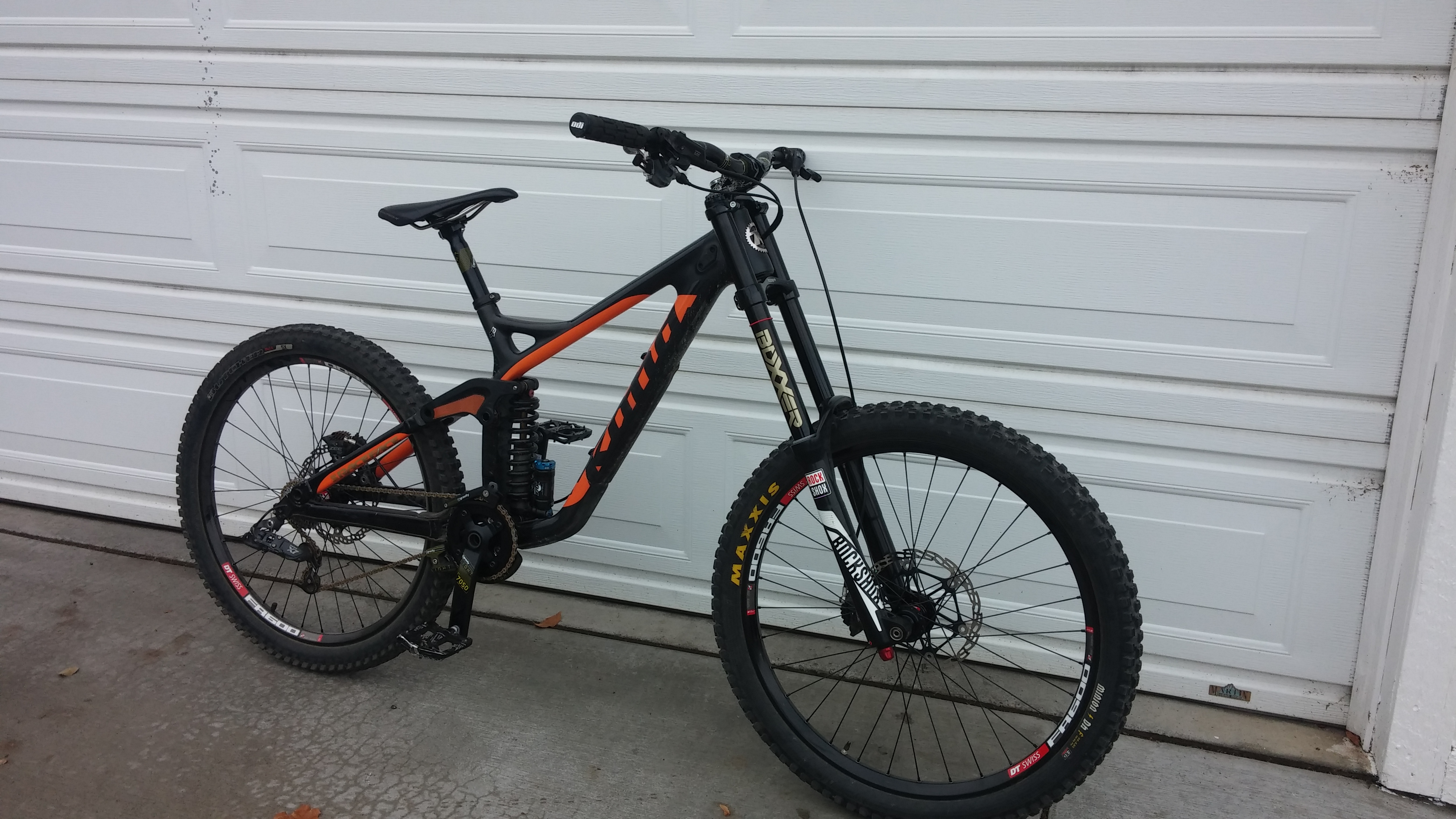 For Sale - 2014 Kona supreme Carbon operator frame w/fox rc4 ...